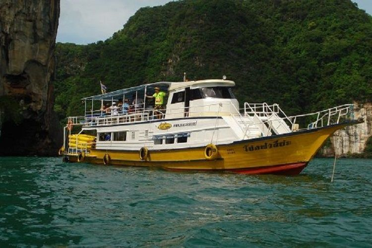 Phang Nga Bay tours John Gray's Hong by Starlight